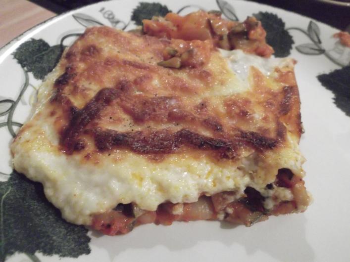 Veg lasagne  (8)